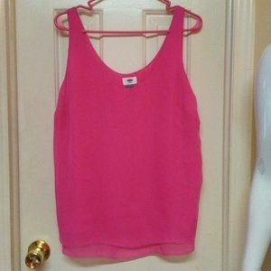 Old Navy Silky Layered Tank